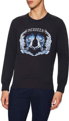 Alexander McQueen Long Sleeve Crewneck Sweatshirt