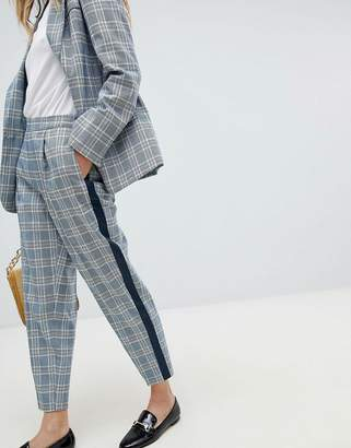 Oasis Check Tailored Pants