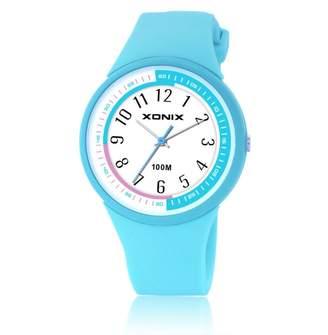 CDKIHDHFSHSDH Boys girls jlly quartz lctronic sports watch, 100 m watrproof ld silicon strap outdoor simpl fashion frsh childrn wristwatch