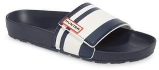 Hunter Garden Stripe Adjustable Sport Slide