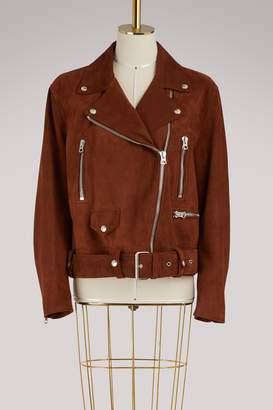 Acne Studios Merlyn lambskin leather jacket