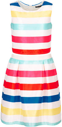 Sequin Hearts Big Girls 2-Pc. Striped Dress