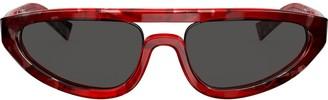 Alain Mikli aviator thick sunglasses