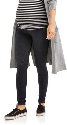 Labor of Love Maternity Over Belly Seamless Super Soft & Stretchy Leggings-- Available in Plus Size