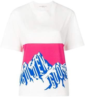 Golden Goose mountain logo T-shirt