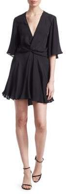 A.L.C. Ava Deep V-Neck Dress