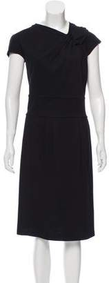 Armani Collezioni Short Sleeve Midi Dress