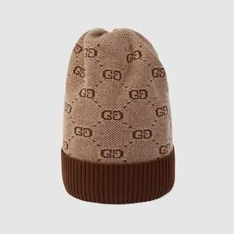 Gucci Children's GG wool cotton hat