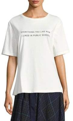 Public School Everything I Like Graphic Tee