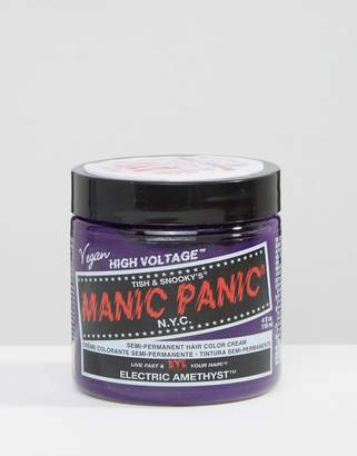 Manic Panic NYC Classic Semi Permanent Hair Color Cream - Electric Amethyst