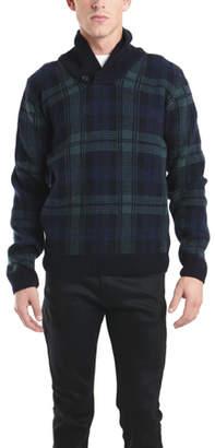 Woolrich Heritage Plaid Shawl Collar