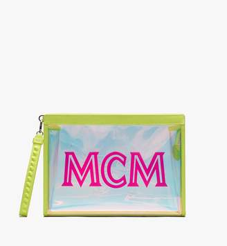 MCM Flo Zip Pouch In Hologram