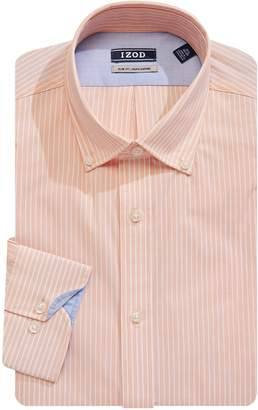 Izod Slim Fit Long Sleeve Button-Down Shirt