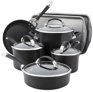 9-Pc Cookware Set w/ Bakeware Bonus