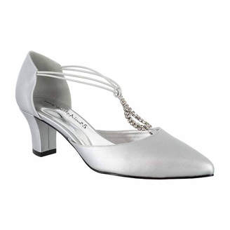 Easy Street Shoes Womens Moonlight Pumps Slip-on Pointed Toe Cone Heel