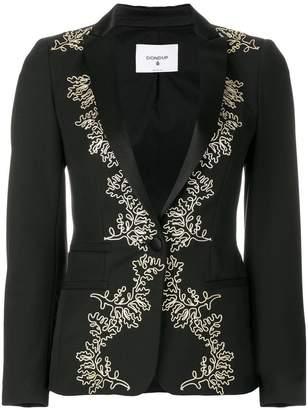 Dondup embroidered Elysia blazer