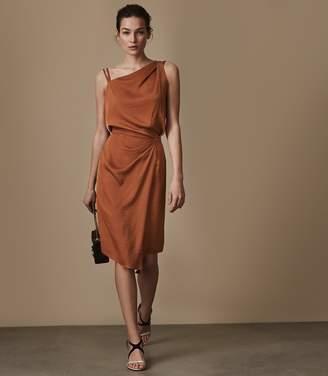 Reiss Ostia One-Shoulder Cocktail Dress