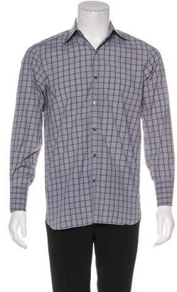Tom Ford Check French Cuff Shirt