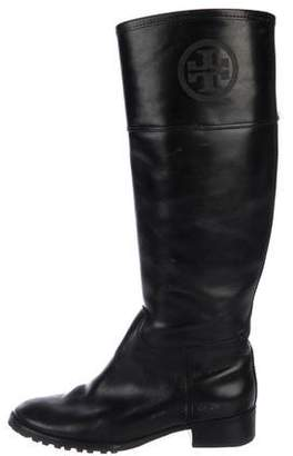 35c2684574eb Tory Burch Stacked Heel Women s Boots - ShopStyle