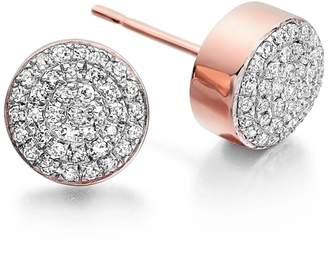 Monica Vinader 'Ava' Diamond Button Stud Earrings