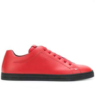 Fendi Bag Bugs lace-up sneakers