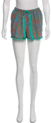 Figue Silk Mini Shorts