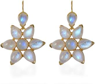 Emma Chapman Jewels Starburst Moonstone Earrings