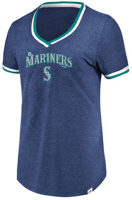 Majestic Women's Seattle Mariners Driven by Results T-Shirt
