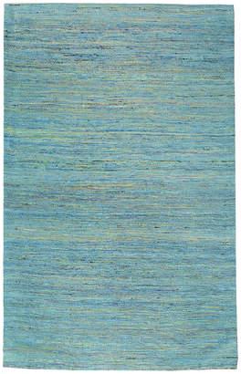 Jaipur Dotts Rugs Blue Flat Weave Rug