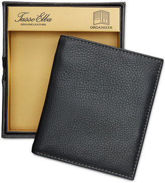 Tasso Elba Men's Naked Milled Leather Organizer, Only at Macy's $50 thestylecure.com
