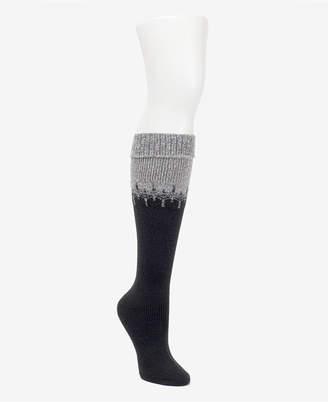 Cuddl Duds Fairisle Knee Socks