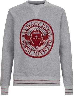 Balmain Medallion Logo Sweater