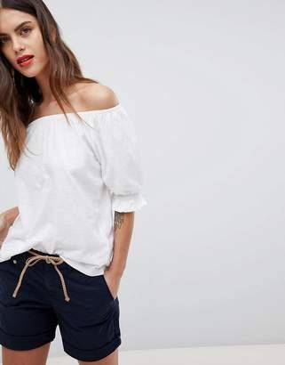 Esprit Bardot Flare Sleeve Top