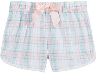 LTB Max & Olivia Plaid Pajama Shorts, Little & Big Girls