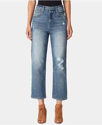 Jessica Simpson Juniors' Straight-Leg Ankle Jeans