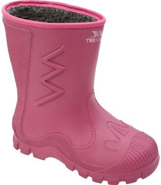 Trespass Kids Unisex Toetey Waterproof Fleece Lined Wellies
