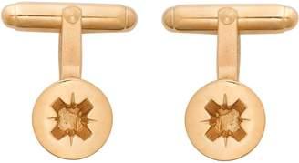 Edge Only - Phillips-head Screw Cufflinks Gold