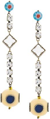 Forte Forte embellished drop earrings