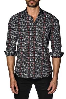 Jared Lang Long Sleeve Modern Fit Shirt