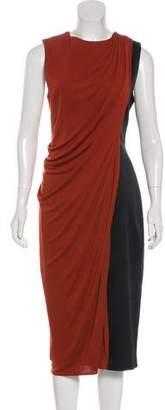 Jason Wu Draped Midi Dress
