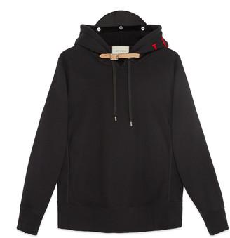 Cotton sweatshirt with appliqués $1,650 thestylecure.com