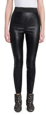 Dolce & Gabbana Leather Leggings