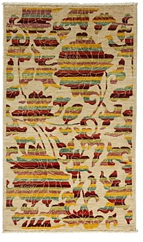 Morris Collection Oriental Rug, 3' x 5'1