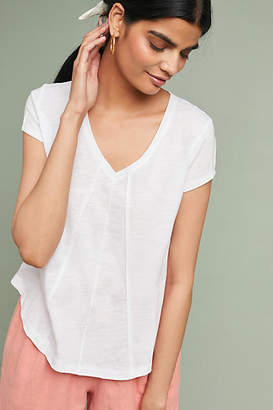 Bordeaux Mila V-Neck Tee