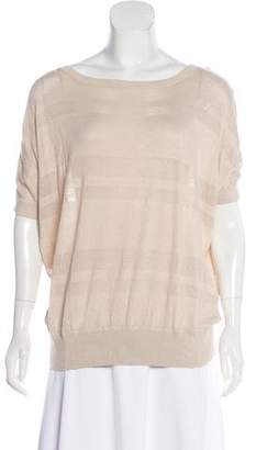 T Tahari Knit Dolman Sleeve Top