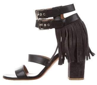 Laurence Dacade Fringe Leather Sandals