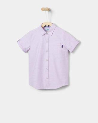143fa47c Ted Baker BENSIN Geo dot cotton shirt
