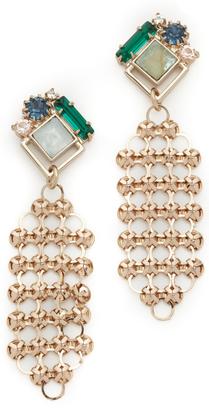 Lulu Frost Cite Earrings $250 thestylecure.com