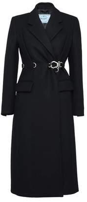 Prada Double Cloth Coat