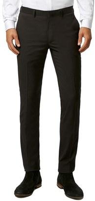 Men's Topman Ultra Skinny Black Suit Trousers $75 thestylecure.com